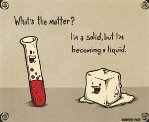 ice melting science humor