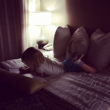 She_has_her_own_room_in_the_hotel.___She_is_loving_it.