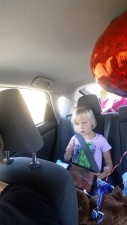 Car ride home from hospital